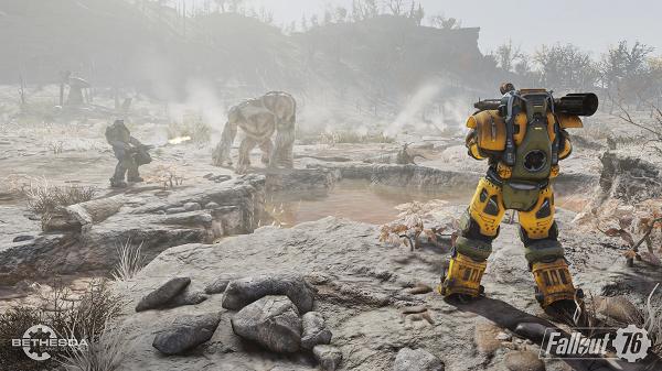 اسکرینشاتهای جدیدی از Fallout 76 منتشر شد