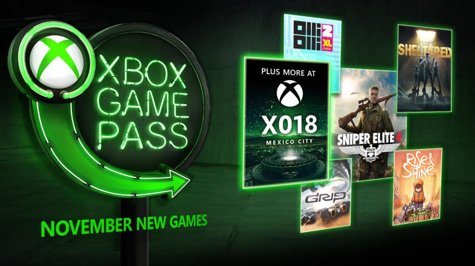 عناوین سرویس Xbox Game Pass ماه نوامبر مشخص شدند