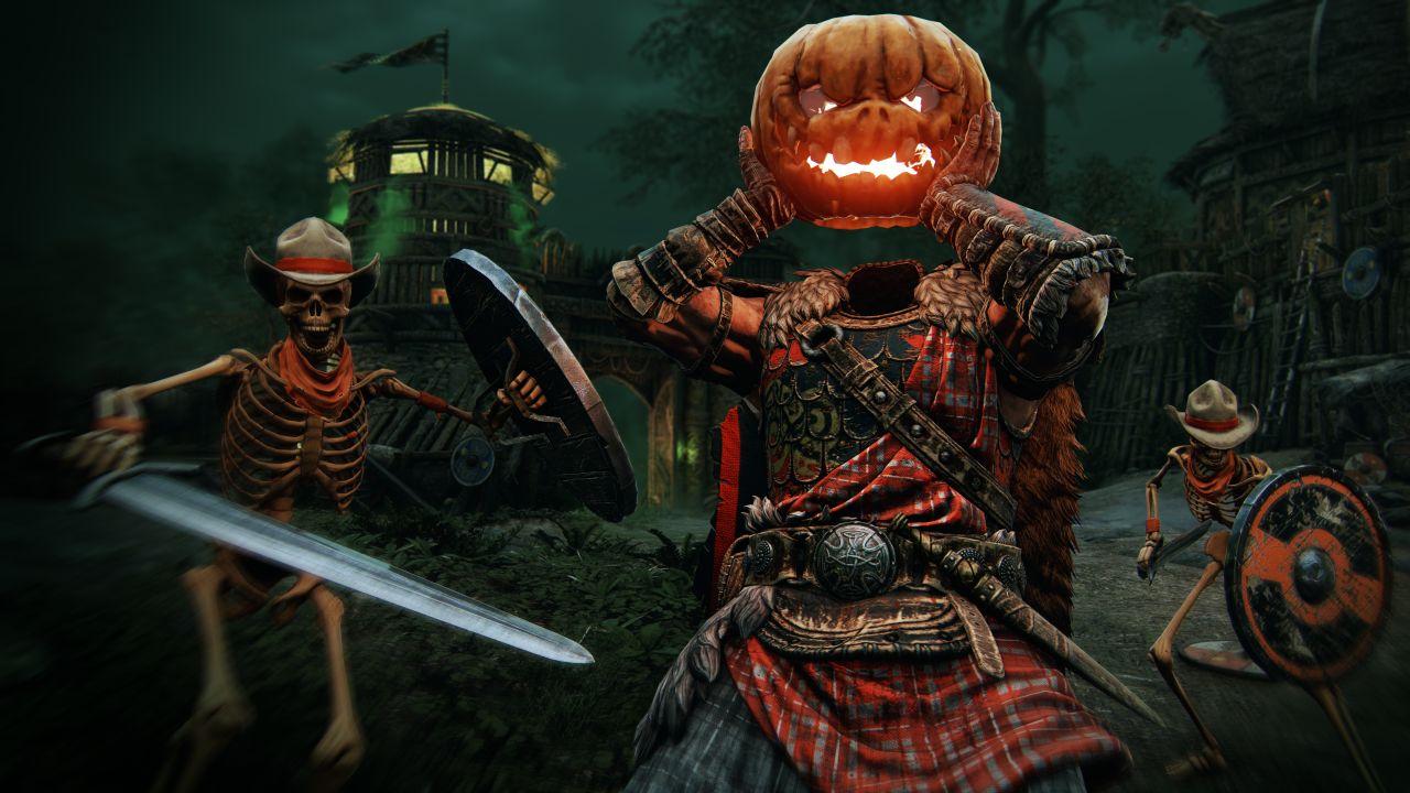 """رویداد ترسناک فصل هالووین عنوان For Honor به نام """"Return of the Underworld"""""""