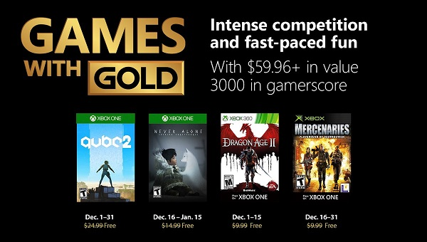 بازیهای رایگان ماه دسامبر Xbox برای کاربران Gold مشخص شدند