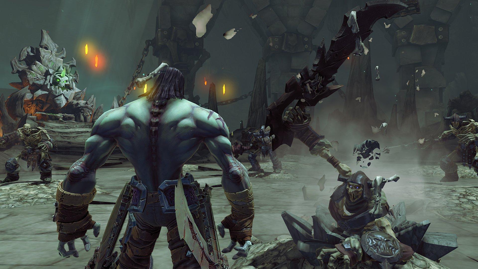 عناوین Darksiders I & II بروزرسانی Xbox One X را دریافت میکنند; هر 2 عنوان با کیفیت 4K و نرخ 60 فریم بر ثانیه اجرا خواهند شد