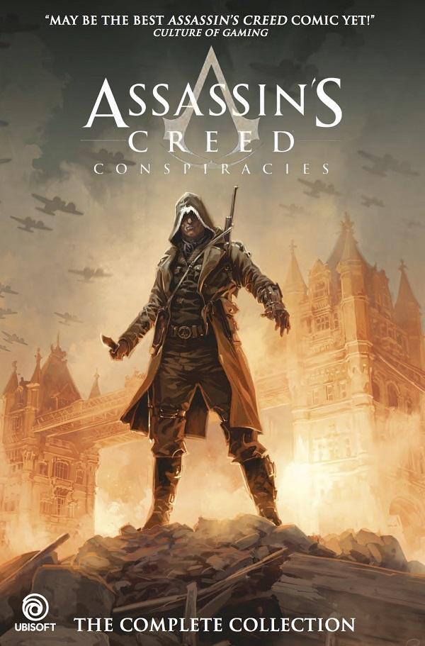 تماشا کنید: نگاهی به رمان گرافیکی جدید Assassin's Creed به نام Conspiracies