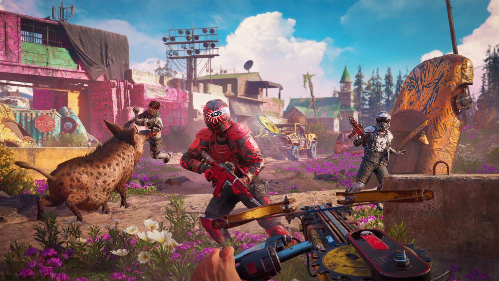 تماشا کنید: ویدیویی از مقایسه مناطق یکسان Far Cry 5 و Far Cry: New Dawn