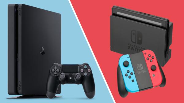 PS4 با اختلاف کم نسبت به Nintendo Switch پرفروش ترین کنسول 2018 شد