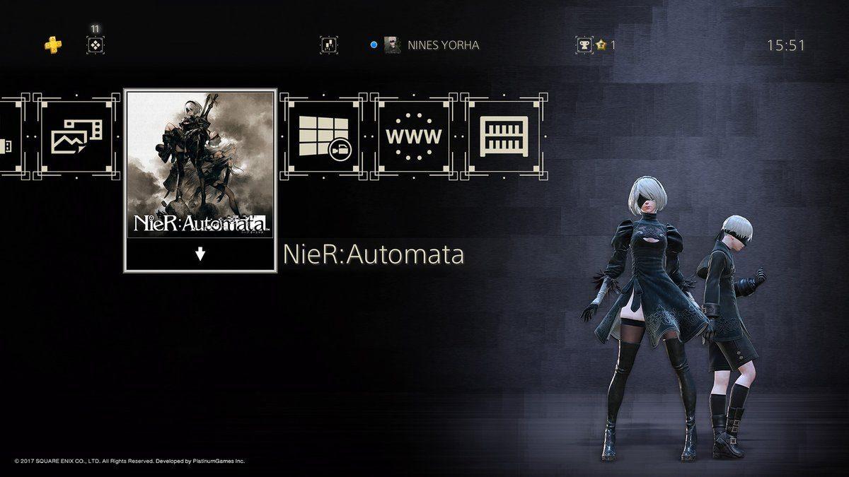 Nier_Automata Theme