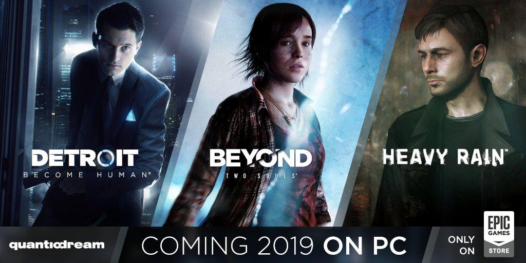3 بازی Detroit: Become Human ،Heavy Rain و Beyond: Two Souls به پلتفرم PC خواهند آمد