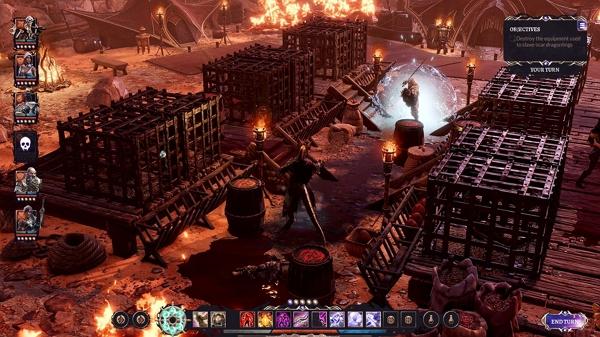 از بازی نقشآفرینی تاکتیکال Divinity: Fallen Heroes با انتشار یک تریلر رونمایی شد