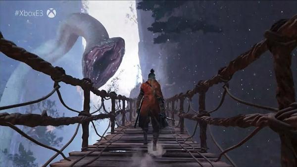 تریلر جدید Sekiro: Shadows Die Twice مار عظیم الجثهی بازی را نشان میدهد