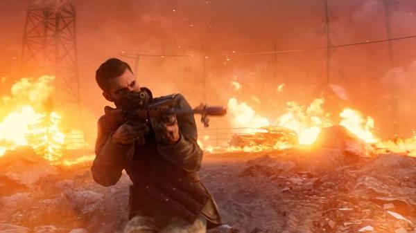 تماشا کنید: تریلر گیمپلی بخش بتل رویال بازی Battlefield v با عنوان Firestorm