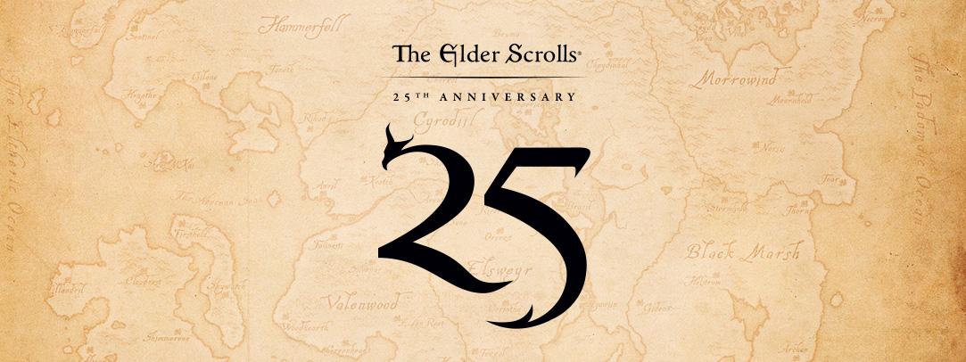 25 سال کامل از زمانی که برای اولین بار اسم The Elder Scrolls گذشت...