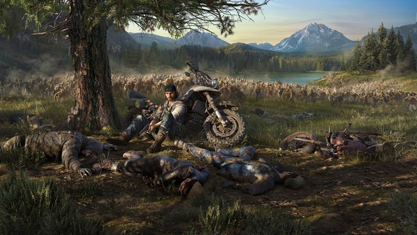 تماشا کنید: نمایش جدید Days Gone با تمرکز بر کاوش در دنیای بازی با استفاده از موتور سیکلت دیکون