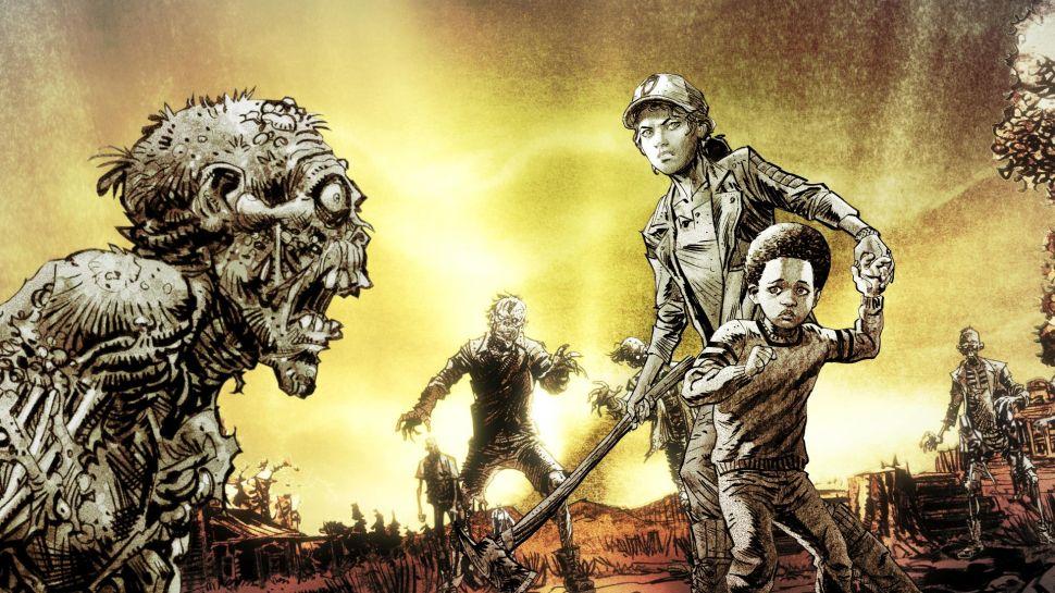Skybound تولید دو اپیزود پایانی The Walking Dead را با فقط پنج نفر آغاز کرد