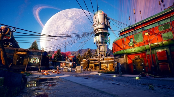 تماشا کنید: 20 دقیقه از گیمپلی بازی The Outer Worlds در رویداد PAX East 2019