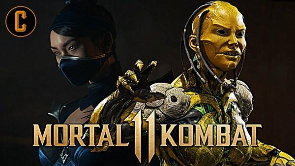 تماشا کنید: تریلر گیمپلی شخصیتهای D'Vorah و Kitana در بازی Mortal Kombat 11