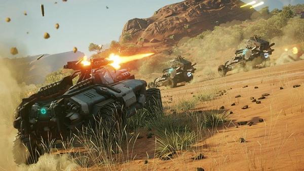 تماشا کنید: ویدئو گیمپلی جدید بازی Rage 2 مبارزات با وسایل نقلیه و یک باس را به تصویر میکشد