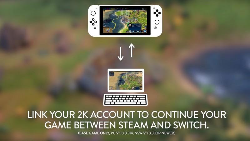 Civilization VI از قابلیت انتقال سیو بازی میان Steam و Switch بهره مند شد