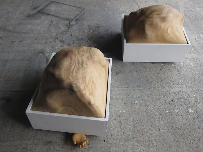 مجسمههای چوبی بینظیر